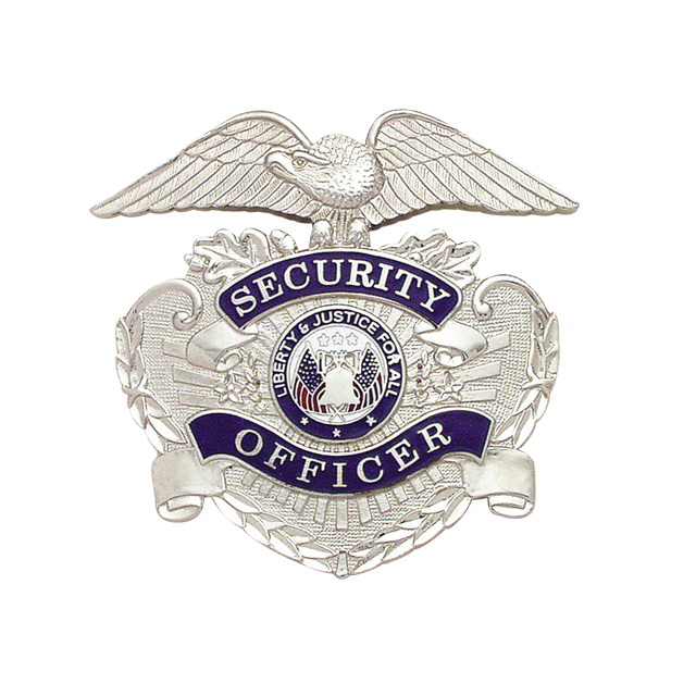 security enforcement  private officer cap hat badge lapel pin