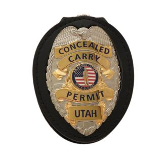Concealed Carry Permit Utah CCW Badge