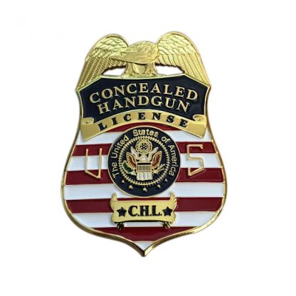 Concealed Handgun License CHL Badge