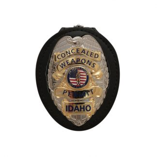 Concealed Weapons Permit Idaho Badge