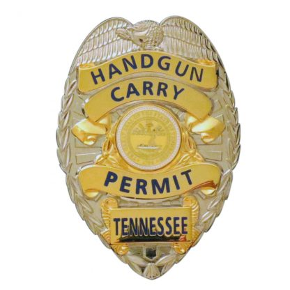 Hangun Carry Permit Tennessee Badge