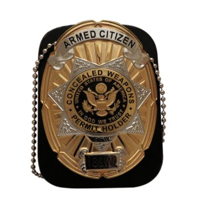 Concealed Weapons Permit Holder ccw