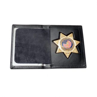 Concealed Weapons Permit Holder CCW Silver Badge Suit