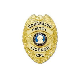 Washington Concealed Pistol License CPL Badge